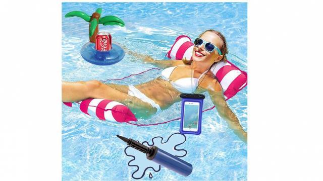 Inflatable Pool Float Set (photo courtesy Amazon)