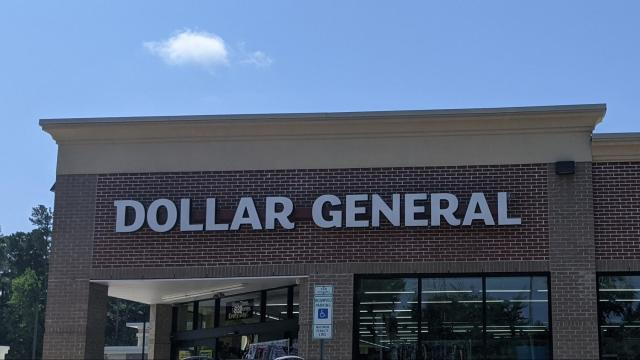 Dollar General Store Front, Cary, NC 8-2021