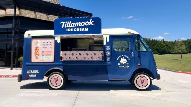 Tillamook Ice Cream Truck (photo courtesy Tillamook Ice Cream)