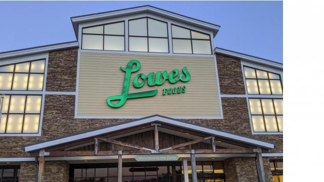 Lowes Foods Store Front, Cary, NC
