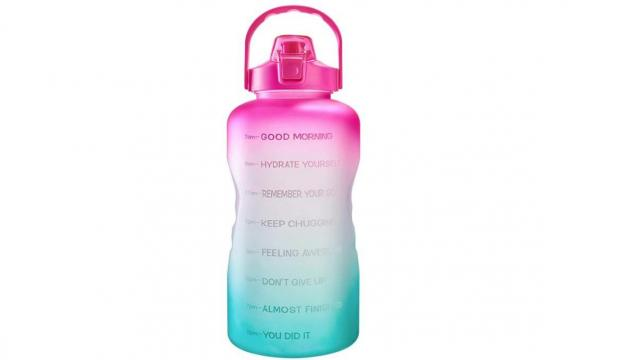 Motivational 1 Gallon Water Bottle (photo courtesy Amazon)