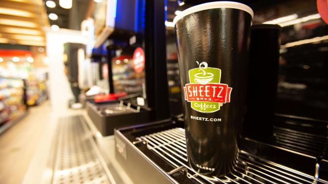 Sheetz Coffee (photo courtesy Sheetz)