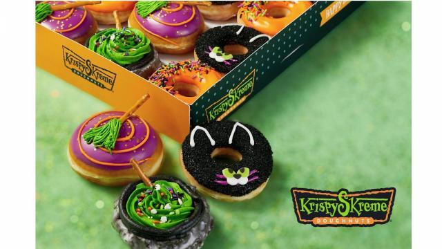 Krispy Kreme Halloween doughnuts (photo courtesy Krispy Kreme)