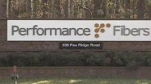 Performance Fibers sign
