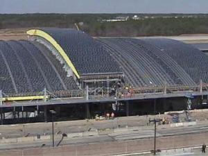 New RDU Terminal under construction