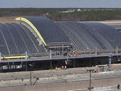 New RDU Terminal under construction