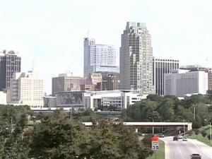 old Raleigh skyline