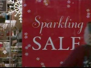 Holiday shopping banner, holiday sales