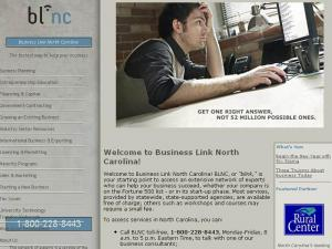 "The BLNC, or ""Blink"" Web site, includes information from numerous state programs that provide business support services."