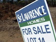 St. Lawrence Homes sign