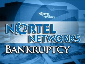 Nortel in bankruptcy