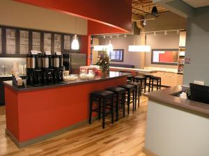 A stylish bar and kitchen adorn McKinney's HQ