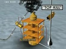 'Top kill' could plug or worsen oil spill