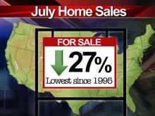 Slow job growth hinders housing market
