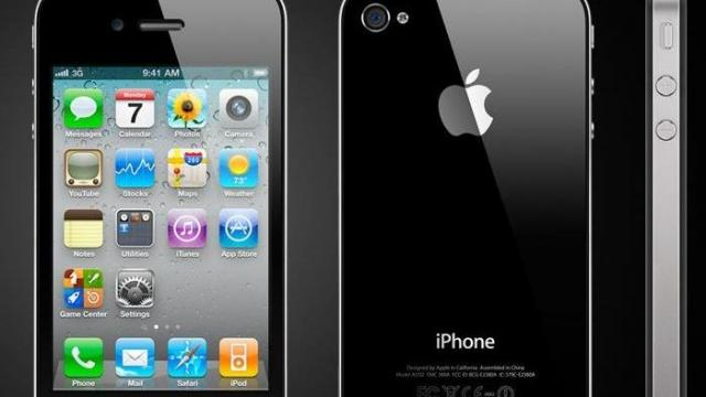 Apple iPhone 4 (Apple image)