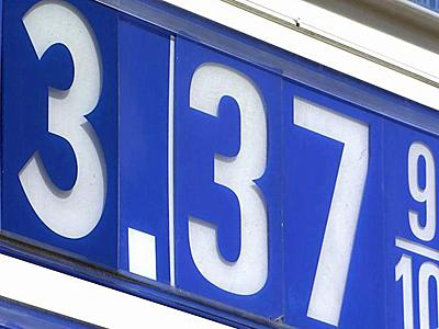 Gasoline priced edged toward $3.40 per gallon in Raleigh Friday.