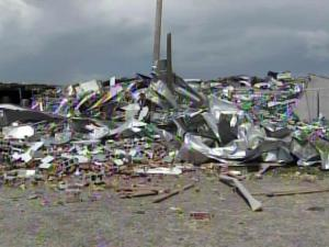 Static Control Components Inc. lost several buildings when an April 16, 2011, tornado hit Sanford.