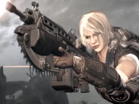 Gears 3 adds a feminine touch to Delta Squad (Epic image)