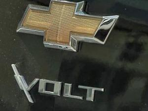 The Chevy Volt uses a hybrid of gas and electricity to run.