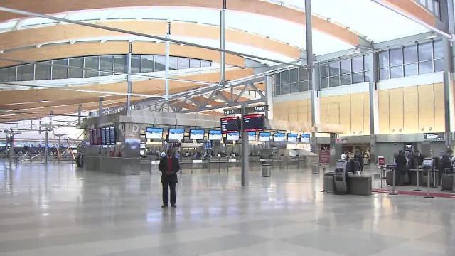 Terminal 2 at Raleigh-Durham International Airport
