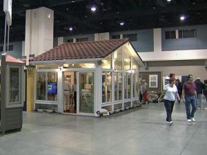 A spring home show in Raleigh proved a draw over the weekend.