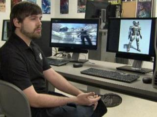 Rion Holland, a 2010 Wake Tech graduate, and his friends have seen success with their final class project, a third-person action shooter game, M.U.S.E.