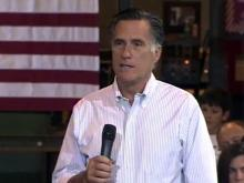 Romney criticizes Obama economic policies in Charlotte stop