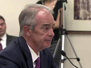 Duke Energy CEO Jim Rogers testifies to the N.C. Utilities Commission on July 10, 2012.