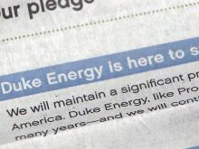 Duke goes on offensive to repair image after merger