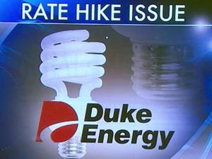 Duke Energy rate increase graphic