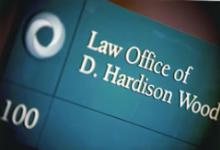 Law Office of D. Hardison Wood Sign