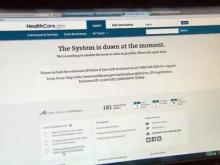 Healthcare.gov website troubles