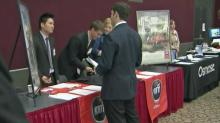 IMAGE: Hundreds of applicants, thousands of jobs at Career Expo