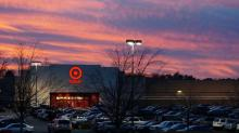 Target at sunset