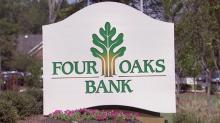Four Oaks Bank sign