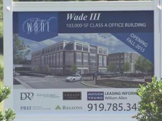 Wade III is already 25 percent rented before the shovels hit the ground.