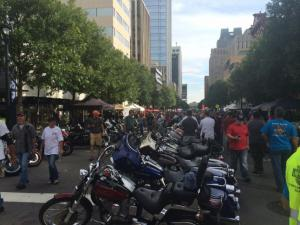 Raleigh marked the 10th anniversary of the Ray Price Capital City Bikefest on Saturday, Sept. 27, 2014.