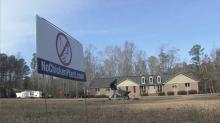 Sign opposed to Cumberland chicken plant