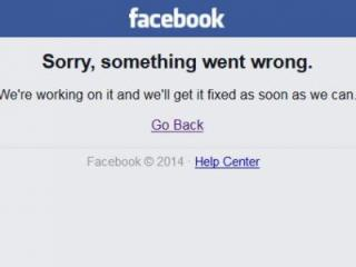 Facebook, the go-to website and app for millions, was offline Thursday afternoon.