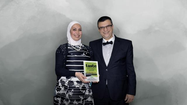 Alsous has carved a new path for herself in the U.K. after leaving Syria, transforming from an asylum seeker into a dairy industry entrepreneur who has won prizes for her products and even been recognized by the prime minister. CREDIT: Razan Alsous/ Yorkshire Dama Cheese/ CNNMoney