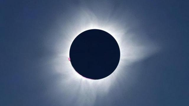 Total solar eclipse of March 9, 2016, in Indonesia. (Deseret Photo)