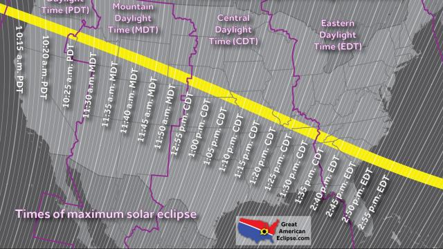 Everything you need to know about the Great American Eclipse