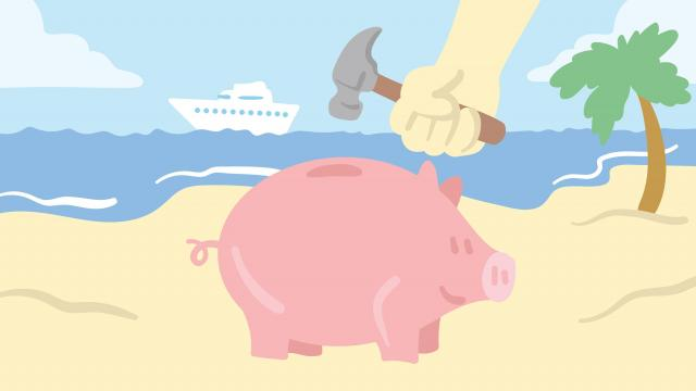Most people expect to spend less money after they retire. But that might not be the case -- at least not at first.