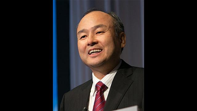 SoftBank CEO Masayoshi Son said he is interested in investing in Uber, but added that Uber's biggest U.S. rival also has potential.