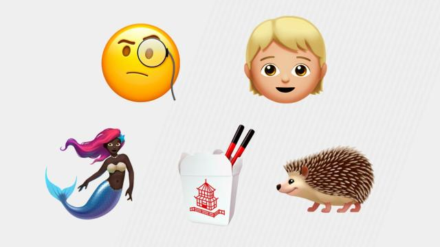 Just when you thought there's an emoji for everything, Apple is adding hundreds more.