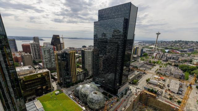 Amazon's HQ in Seattle