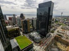 Amazon's HQ in Seattle