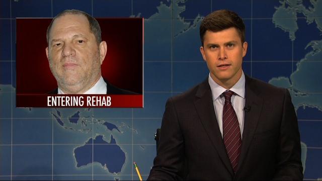 Saay Night Live Addressed The Harvey Weinstein Scandal During Weekend Update