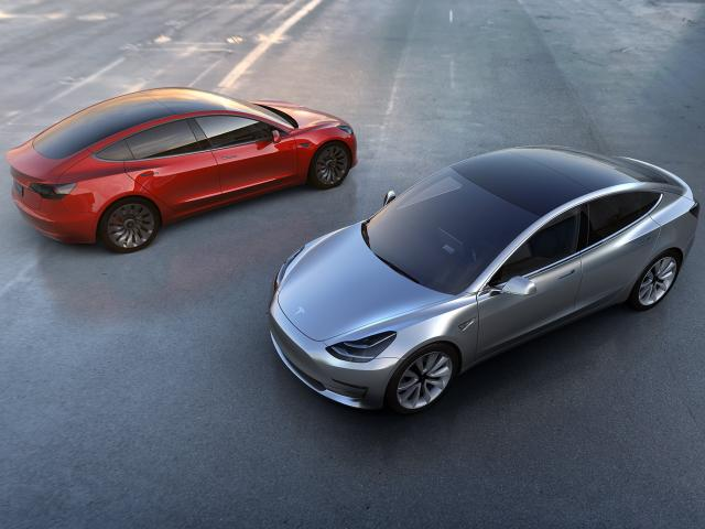 Model 3 prices start at $35,000 for a car with few features and black paint. Prices rise quickly for cars with more options or brighter colors.