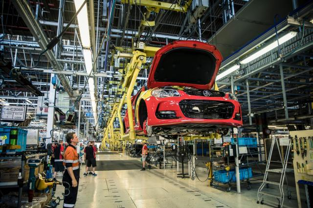 The last vehicle made by General Motors' Holden unit rolled off a production line in Australia on Friday, bringing decades of car manufacturing in the country to an end.